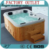 Luxury de Outdoor Massage SPA Sanitaire Hete Ton van Waren (713A)