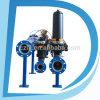 2  3  4  filtro de placa líquido do disco do mícron PA6 da água automática da filtragem da água do remoinho