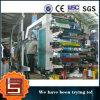 Lisheng prix d'usine pour la grande vitesse 6 couleurs PE en plastique du rouleau de film Machine d'impression flexo