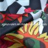 Ткань шифонового держателя высокого качества красивейшая напечатанная для держателя