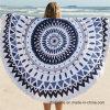 女性のための美しい円形の印刷されたビーチタオル