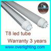 Tube compatible élevé du ballast 600mm LED de la puissance 10W, lumière T8 (XY-T8-B-144P)