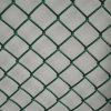 PVC緑色のチェーン・リンクの網の塀