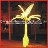 Pour LED de couleur jaune Palm Tree lumière