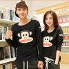 중국은 긴 소매 t-셔츠의 인쇄를 주문을 받아서 만들었다