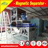 ジルコンの濃縮物のための高性能の乾燥した磁気分離器