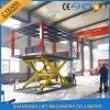 Levage électrique hydraulique souterrain stationnaire de garage de véhicule de ciseaux