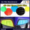 pellicola blu-chiaro dell'involucro dell'automobile della pellicola della lampada dell'automobile del PVC degli occhi di gatto 4D con 12 colori