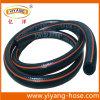 Type résistant froid flexible boyau de jardinage de l'eau de PVC de noir