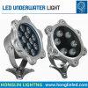IP68 impermeabilizzano l'indicatore luminoso subacqueo della fontana della piscina di 6W LED