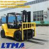 Nueva carretilla elevadora diesel de la marca de fábrica 7ton de Ltma China con 4 ruedas