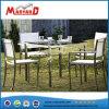 Amerikanisches Art-ausgeglichenes Glas-Oberseite-Garten-Tisch-Set
