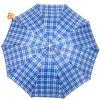 Tela de la verificación de tres dobleces/paraguas al aire libre de la lluvia (YS-3F1007A)