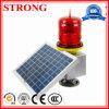 Солнечный внезапный предупредительный световой сигнал для крана башни конструкции