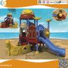 Bateau Pirate design extérieur de l'équipement de terrain de jeux pour enfants en plastique