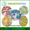 Les stéroïdes pharmaceutiques Anavar de produits chimiques marque sur tablette le CAS. 53-39-4
