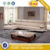Italia clásica de madera de diseño de mobiliario de oficina oficina de cuero sofá (HX-SN8075)