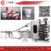 Tazón de yogur de máquina de impresión