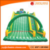 中国の膨脹可能なおもちゃの/Jumpingの弾力がある城の警備員のペンギンのスライド(T4-180)
