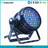 Luz impermeável do diodo emissor de luz da PARIDADE do zoom 54X3w de DMX auto