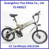 Bicicleta de montanha elétrica de dobramento da bateria de lítio de 20 polegadas