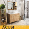 고품질 미국 간단한 작풍 단단한 나무 목욕탕 허영 (ACS1-W29)