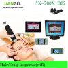 Analyseur de cheveux et cheveux portable 5X-200X