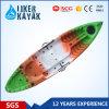 La vente de kayak de 2 personnes, pêche de kayak, double se reposent sur le premier kayak