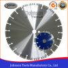 blad van de Zaag van 105600mm het Laser Gelaste Turbo voor Steen