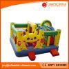 Uitsmijter van Combo van de Dia van het Geteerde zeildoek van pvc van Pikachu de Opblaasbare (T3-610)