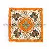 Zoll gedruckter Silk quadratischer Twill-Schal für Dame