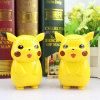 Pokemon al por mayor va batería de la potencia de la fuente/de la fuente de la dimensión de una variable de Pikachu de la batería 10000mAh