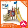 Kind-Spiel-Struktur Ootdoor Palayground hölzernes Plättchen
