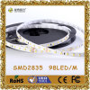 SMD 2835 LED Strip Light 98LEDs/M 22-25lm/LED