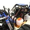 2.4G Gas powered RC carro de alta velocidade vagão de gás carro