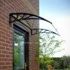 Toldo al aire libre de Polycarboante de la alta calidad para la sola puerta principal