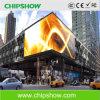 ПОГРУЖЕНИЕ P10 СИД Chipshow напольное рекламируя доску индикации