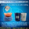 Molde dos ofícios da arte que faz a borracha de silicone do produto comestível