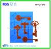 Muffa chiave Isomalt del silicone di figura