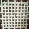 Basketweave WhiteかDark Mosaic Marble Tile