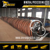 Fábrica del equipo de la concentración de la gravedad del concentrador del espiral de la reducción de la rafadora