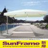 Paraplu van Rome van het Dak van het aluminium de Enige voor Openlucht