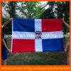 Напечатанный таможней национальный флаг полиэфира