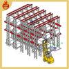 Movimentação de aço do armazém resistente em cremalheiras do armazenamento da pálete