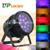 Disco ao ar livre Light do diodo emissor de luz Zoom Wash Rgbwauv de Waterproof 18X12W