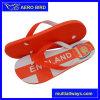Diseño de impresión bandera Chanclas zapatos Sandalia de zapatilla de hombre