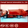 트럭을 재생하는 6wheels 4X2 LHD HOWO 쓰레기 쓰레기 압축 분쇄기