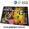 Cuaderno de bocetos de color amarillento de la luz de papel para el suministro de Fabricación de artículos de papelería