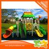 Piezas al aire libre de la diapositiva del equipo del patio del pequeño parque temático