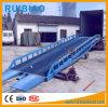 rampe de charge hydraulique en acier mobile de conteneur de l'entrepôt 10ton